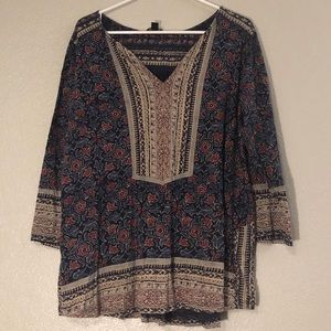Soft Peasant Blouse